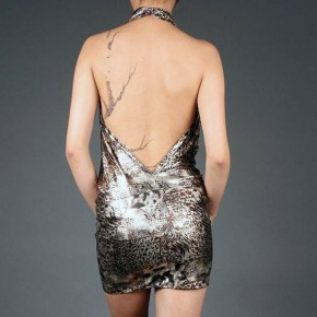 Metallic Club Dresses For Women Pictures