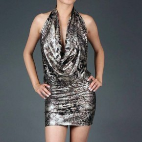 Metallic Club Dresses Ideas Pictures
