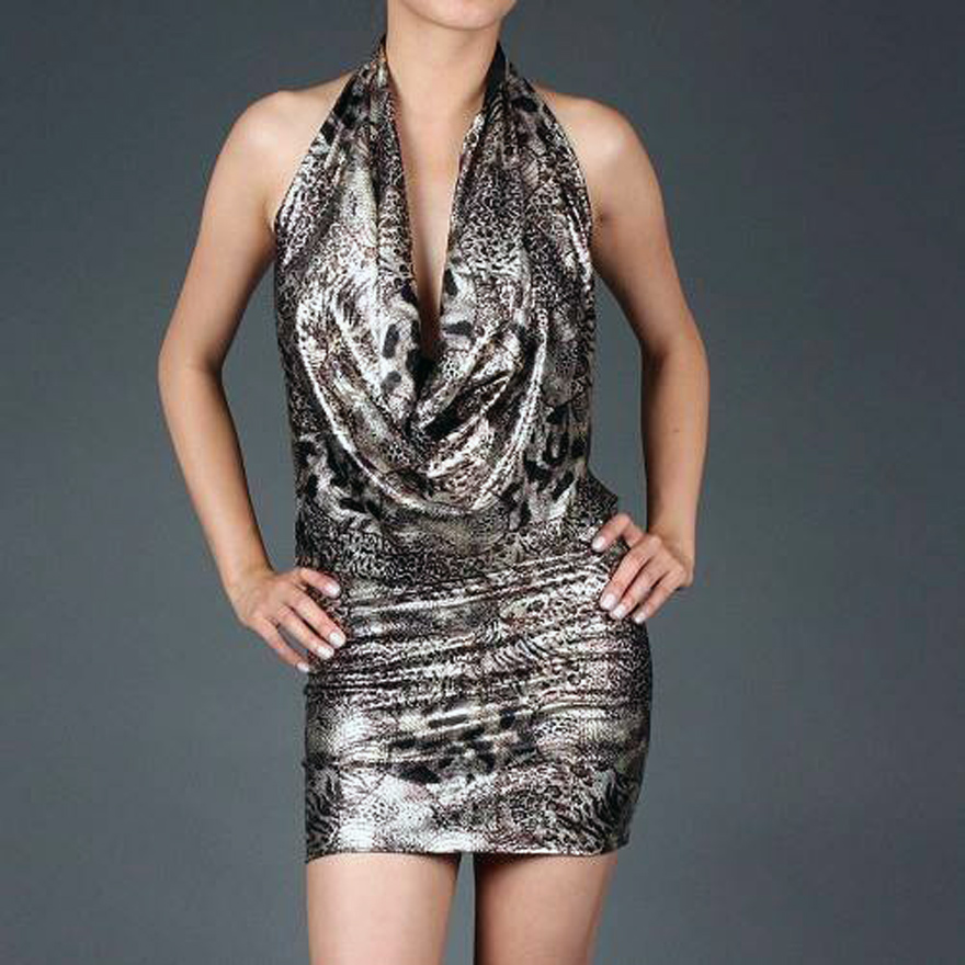 Metallic Club Dresses Ideas