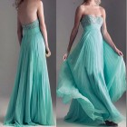 Mint Green Long Prom Dresses 2013 Pictures