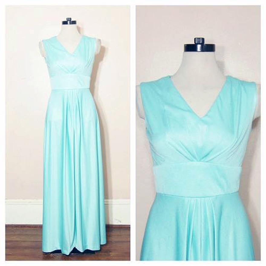 Mint Green Prom Dress 2013 Mint Green Long Prom D...