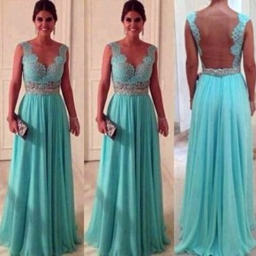 Mint Green Long Prom Dresses Images Pictures