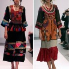 Modern Arabic Dresses Tribal Pictures