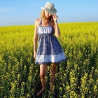 Modern Country Dresses Short Pictures