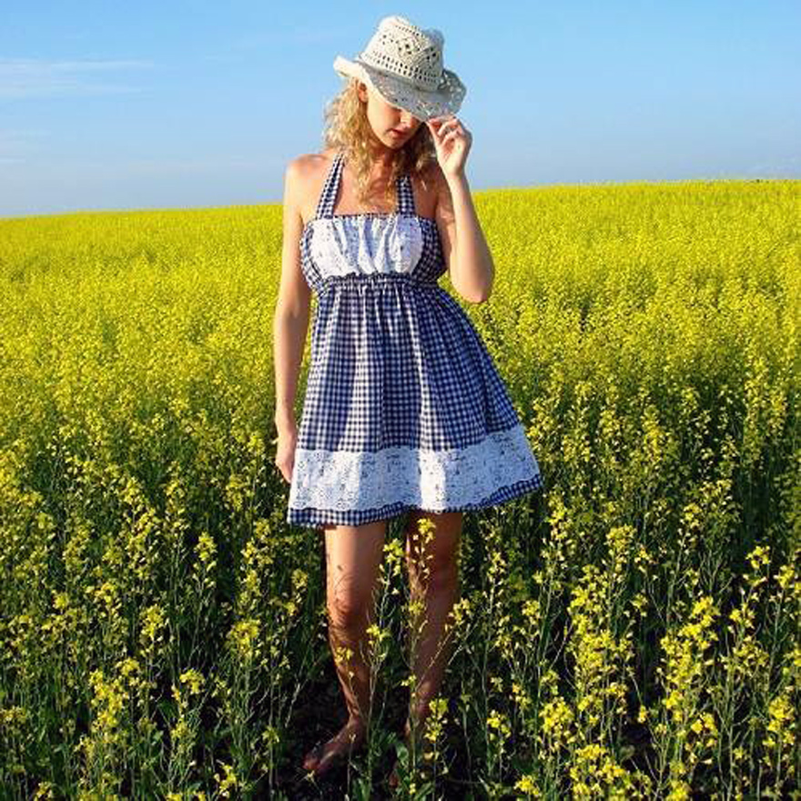 Modern Country Dresses Short