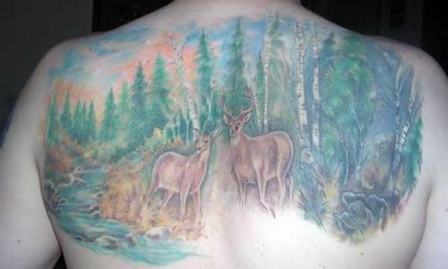 Mossy Oak Tattoo Designs 2013