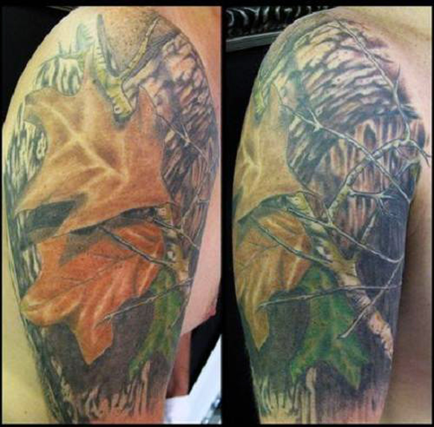 Mossy Oak Tattoo Designs Images