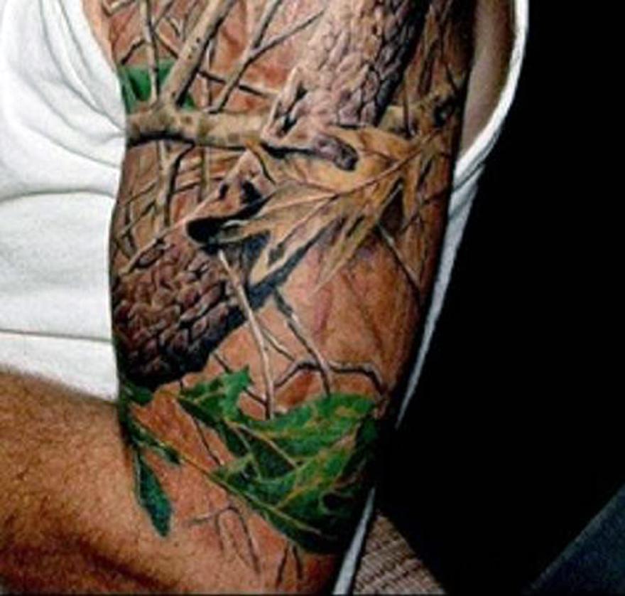 Mossy Oak Tattoo Designs Styles