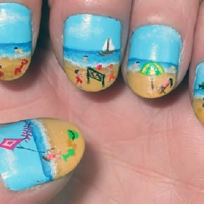 Nail Designs For Short Nails Easy Pictures