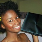 Natural Hairstyles For Graduation Cap Pictures