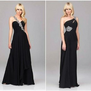 Navy Blue Long Prom Dresses 2013 Pictures