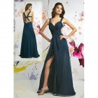 Navy Blue Long Prom Dresses Styles Pictures