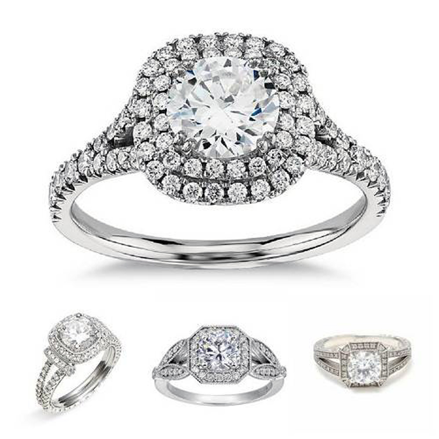 New Trends In Wedding Rings With Diamond