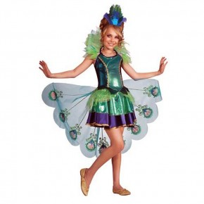 Peacock Fancy Dress Ideas For Girls Pictures
