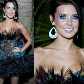 Peacock Fancy Dress Ideas For Ladies Pictures