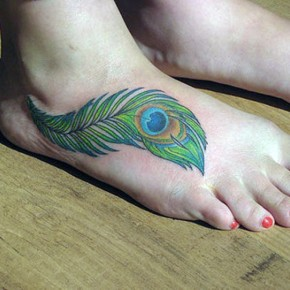 Peacock Feathers Tattoos Ideas Pictures