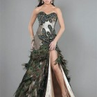 Peacock Prom Dresses 2014 Pictures