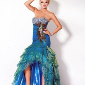 Peacock Prom Dresses Jovani Pictures