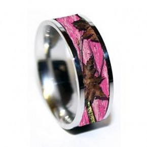 Pink Camo Diamond Ring Sale Pictures