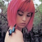 Pink Hairstyles Short Hair Collection Pictures