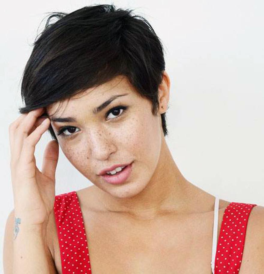 Pixie Haircut Asian Women 2013