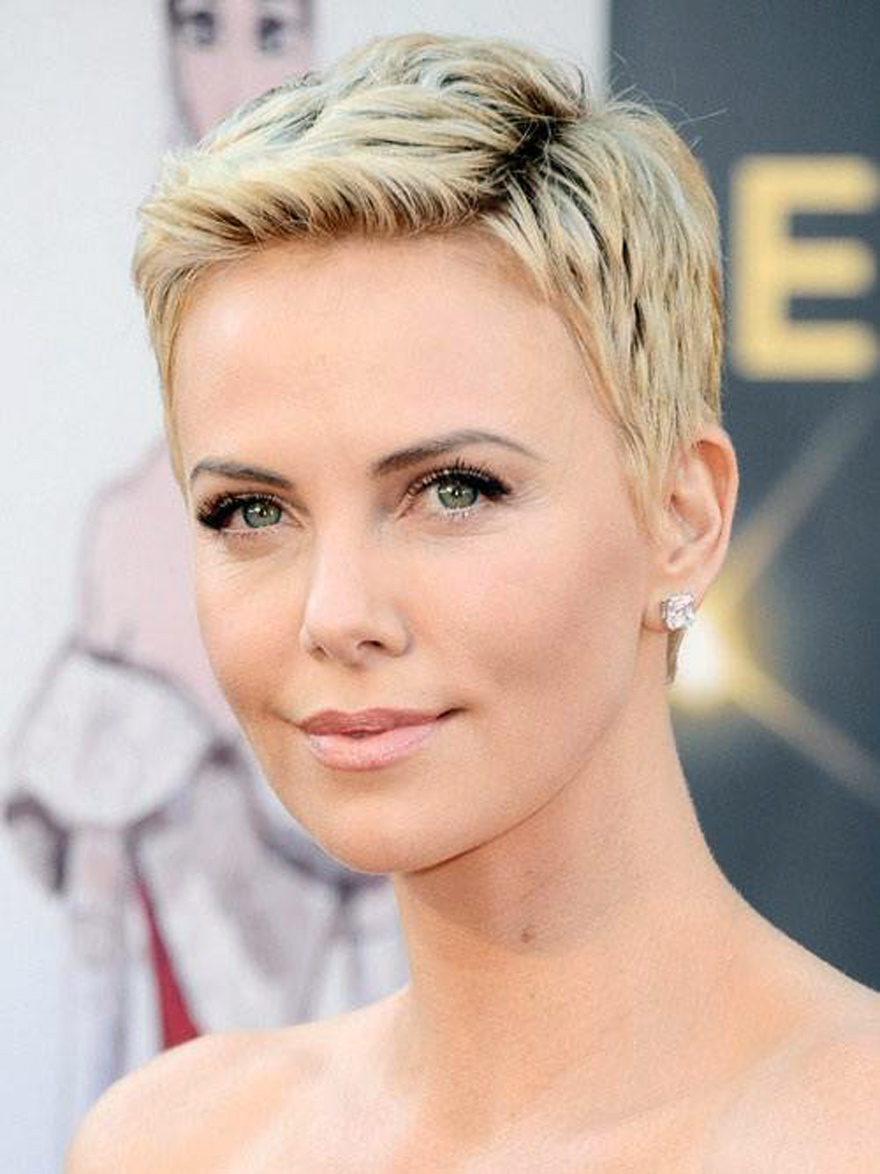Pixie Hairstyle For Round Face 2013 Pictures Fashion Gallery