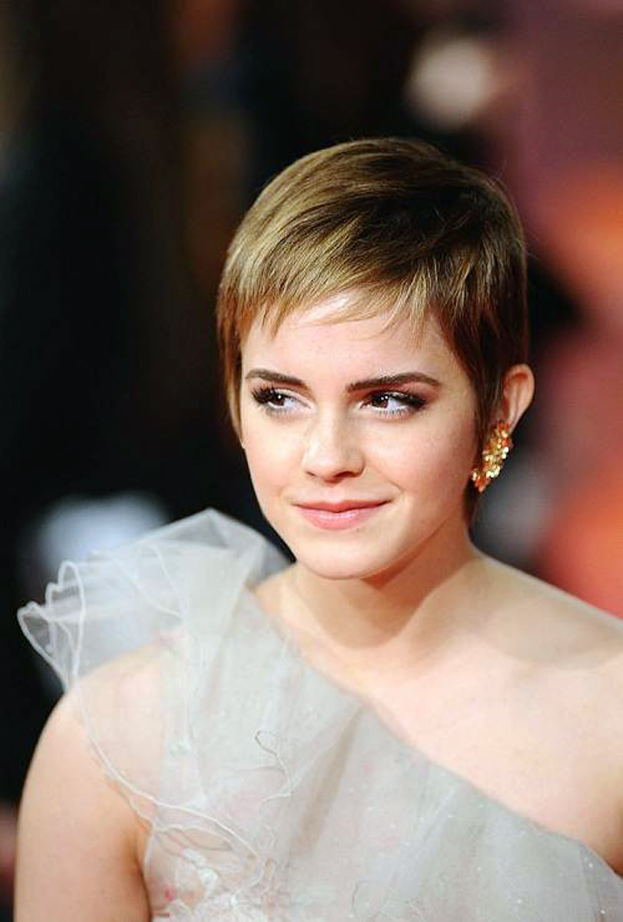 Pixie Hairstyle For Round Face Teenagers