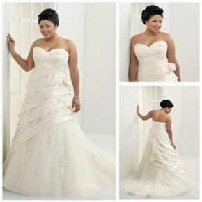 Plus Size Beach Gowns For Bride Pictures