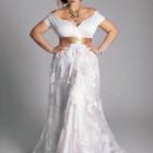 Plus Size Elegant Dresses For Wedding Pictures