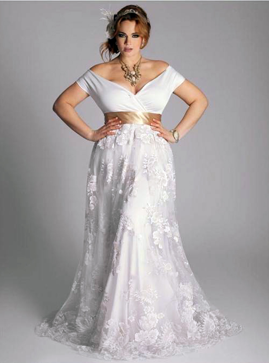 Plus Size Elegant Dresses For Wedding