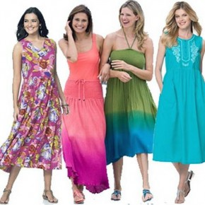Plus Size Sundresses Long Pictures