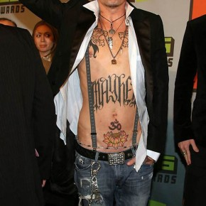 Popular Tommy Lee Celebrity Tattoos Pictures