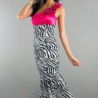 Pretty Zebra Print Prom Dresses Ideas Pictures