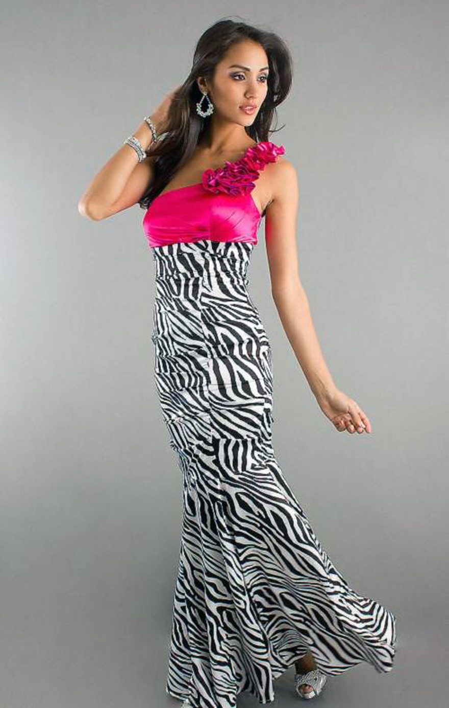 Pretty Zebra Print Prom Dresses Ideas Inofashionstyle