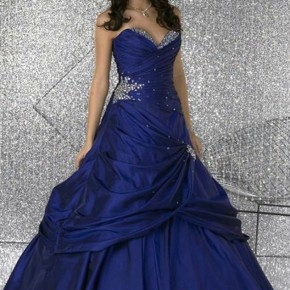 Prom Dress Blue And Purple Pictures