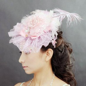 Prom Hairstyles With Headdress Blush Pictures
