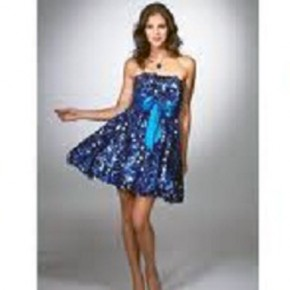 Prom Short Dresses With Sleeves Pictures