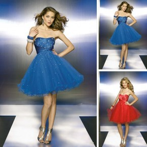 Prom Short Puffy Dresses Ideas Pictures