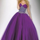 Purple Long Prom Dresses 2013 Pictures