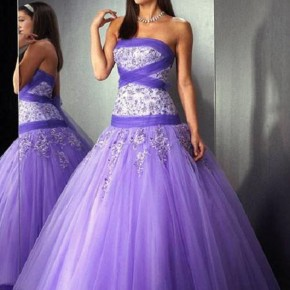 Purple Long Prom Dresses Uk Pictures