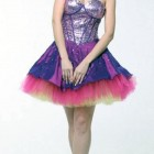 Purple Long Short Dresses Ideas Pictures