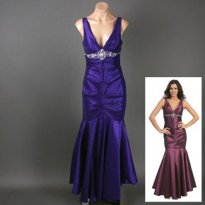Purple Mermaid Dresses Ideas Pictures