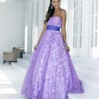 Purple Prom Dresses Images Pictures