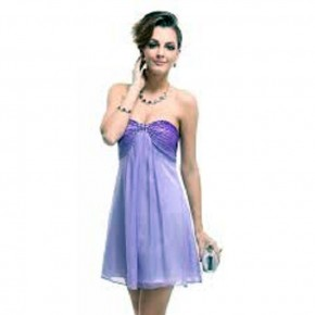 Purple Prom Dresses Short Pictures