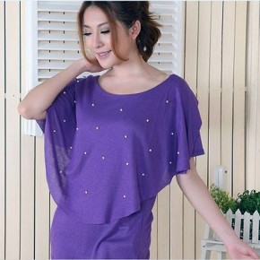 Purple Shirt Dress For Women Ideas Pictures