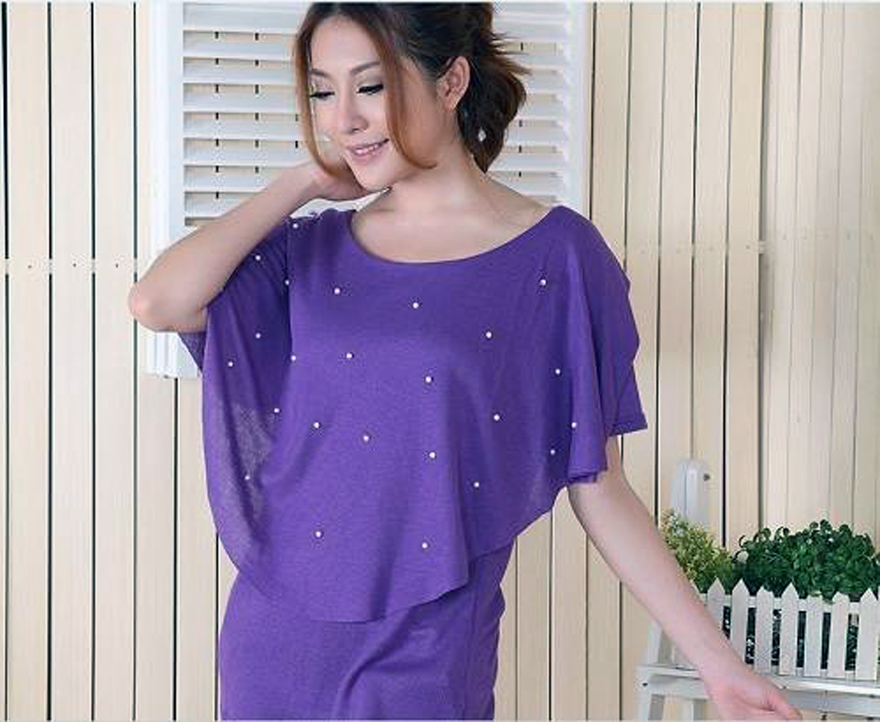 Purple Shirt Dress For Women Ideas - Inofashionstyle.com