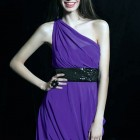 Purple Short Dresses For Juniors Pictures