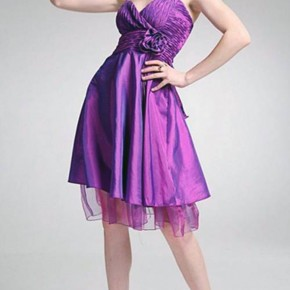 Purple Short Dresses For Kids Pictures
