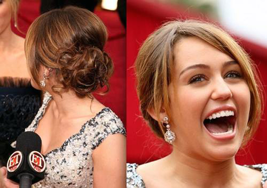 Red Carpet Updo Hairstyles Back View Inofashionstyle