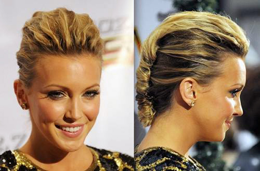 50 Best Short Wedding Hairstyles That Make You Say Wow: Red Carpet Updo Hairstyles Ideas